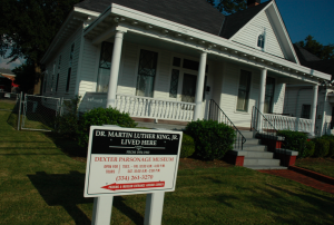 Dexter Parsonage Martin Luther King